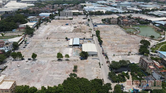 桃村工业区改造(首期)项目拆除原有建筑后。.png