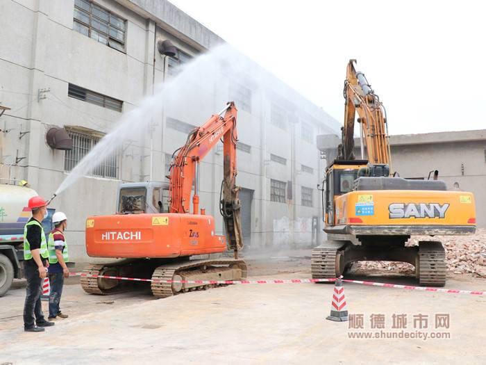 顺德中医院易地新建项目已启动清拆。(资料图).jpg